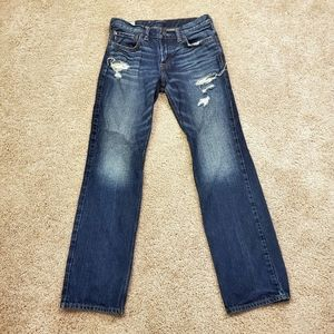 Abercrombie & Fitch Kids Slim Straight Jeans